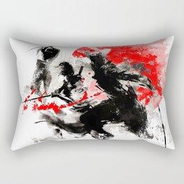 Samurai Duel Rectangular Pillow