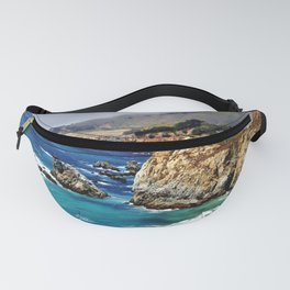 Scenic Highway 1 California by Reay of Light Fanny Pack