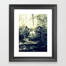 Shadow Bridge Framed Art Print