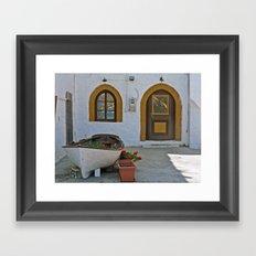 Patmos Framed Art Print
