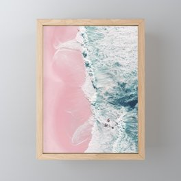 sea of love II Framed Mini Art Print