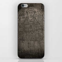 Monk mural iPhone Skin