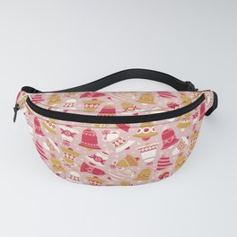 Vintage Christmas Bell Fanny Pack