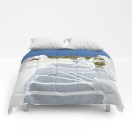 The Perfect Santorini Life Comforters