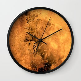 μ Garnet Star Wall Clock