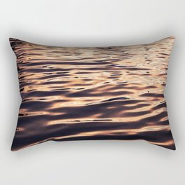Tiger Stripe Waves Rectangular Pillow