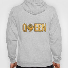 QUEEN WIFE WOMAN T-SHIRT WITH EGYPTIAN ANKH Hoody