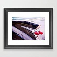 High Fin Framed Art Print