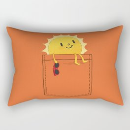 Pocketful of sunshine Rectangular Pillow