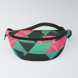 Tropical Cage Fanny Pack
