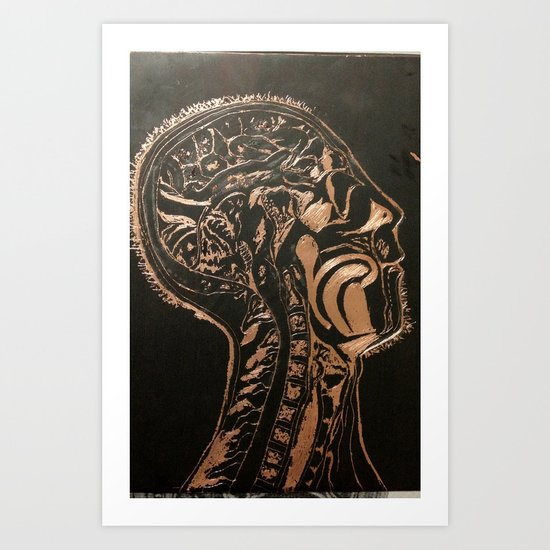 Skinless Vol. 1 Art Print