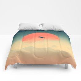 Lonesome Traveler Comforters