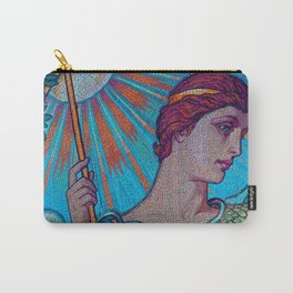 Minerva Goddess Of Wisdom Carry-All Pouch