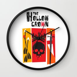 The Hollow Crown (Color Variant 2) Wall Clock