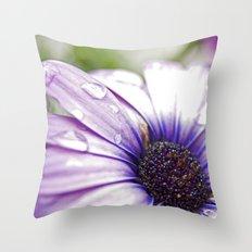 Purple Bliss Throw Pillow