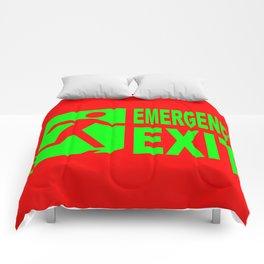 Emergency Exit Comforters