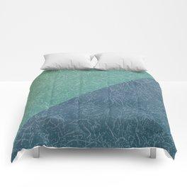 Sea Texture Comforters