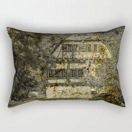 Old half-timbered House ( Klosterhof Blaubeueren ) Rectangular Pillow
