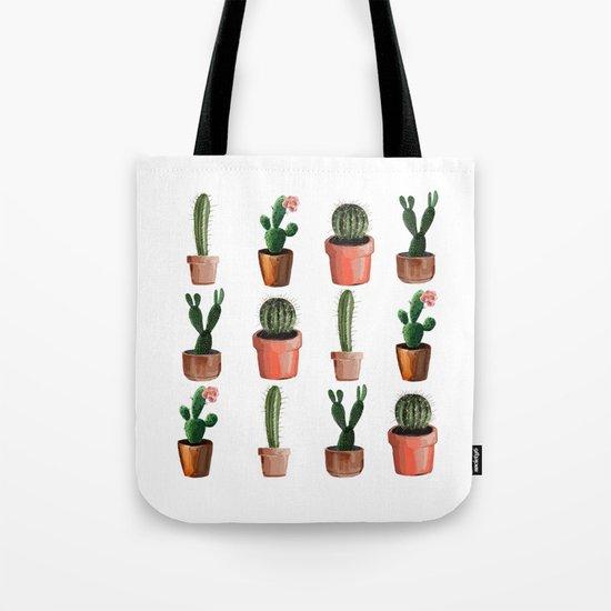 Various Cacti Tote Bag