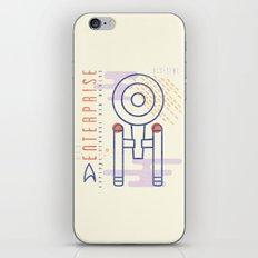 MNML: NCC-1701 iPhone & iPod Skin