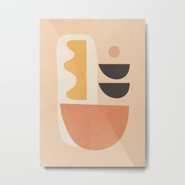 Abstract Art / Shapes 25 Metal Print