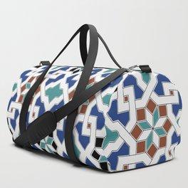 Geometric Pattern - Oriental Design Pt. 7 Duffle Bag