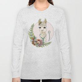 Healthcare Llama Long Sleeve T-shirt