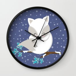 WINTERLAND FOX 2 Wall Clock