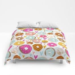 Donut Love  Comforters