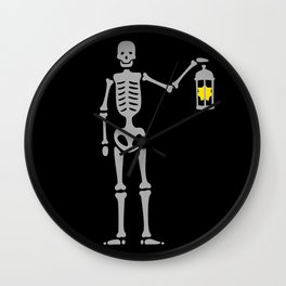 The Hermit Pirate Wall Clock