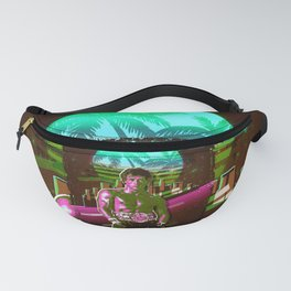Rocky retro art Fanny Pack