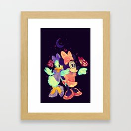 Viewtiful Expressions Framed Art Print
