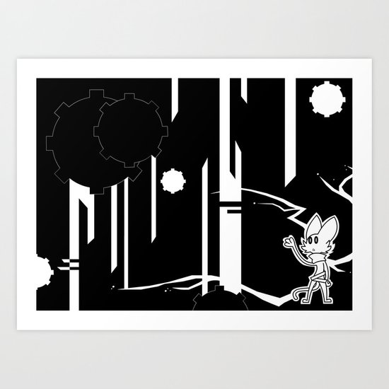 The Place where no Light Can Find You Art Print