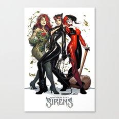 Sirens Gotham city Canvas Print