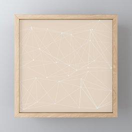 LIGHT LINES ENSEMBLE III-A Framed Mini Art Print