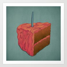 Happy Birthday (Pink)  Art Print