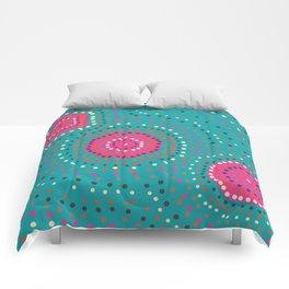 Shapes- aboriginal Comforters