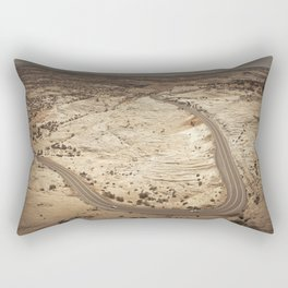 Head of the Rocks overlook, Utah Rectangular Pillow