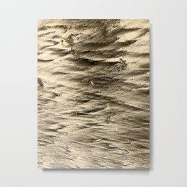 Sand Anstract Metal Print