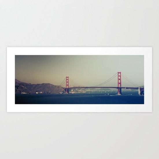 Golden Gate Bridge II Art Print
