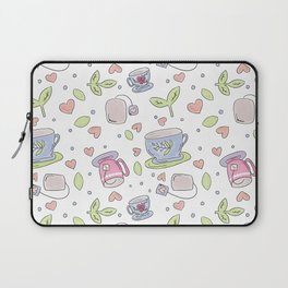 There's Always Time for Tea Laptop Sleeve