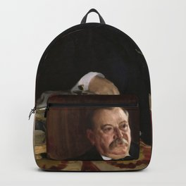Anders Zorn - Portrait of President Grover Cleveland (1899) Backpack