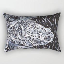 PORTRAIT OF A TURTLE Rectangular Pillow