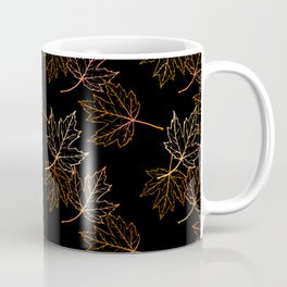 Maple Leaf (Black Glow) - Crisp Coffee Mug