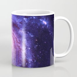 the Spiral space dust galaxy Coffee Mug