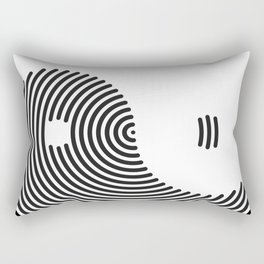 Yin-yang Rectangular Pillow