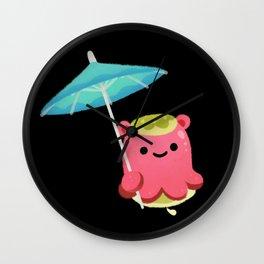 Mollusk cocktail Wall Clock