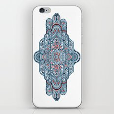 Hand painted symmetrical pattern iPhone & iPod Skin