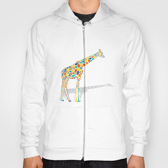 Technicolor Giraffe Hoody