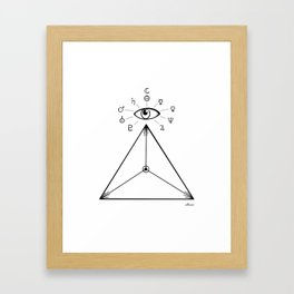 Freemasonry Framed Art Print